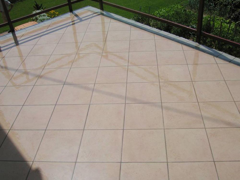 Balkonsska terasa zaštćena hidroizolacijom