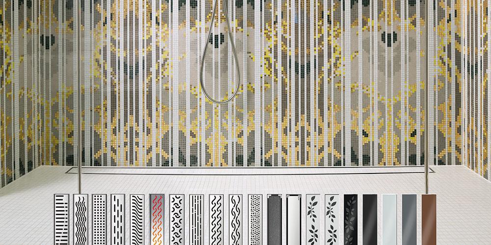 ACO ShowerDrain® linija proizvoda predstavlja elegantno dizajnirana rešenja za odvodnjavanje kupatila