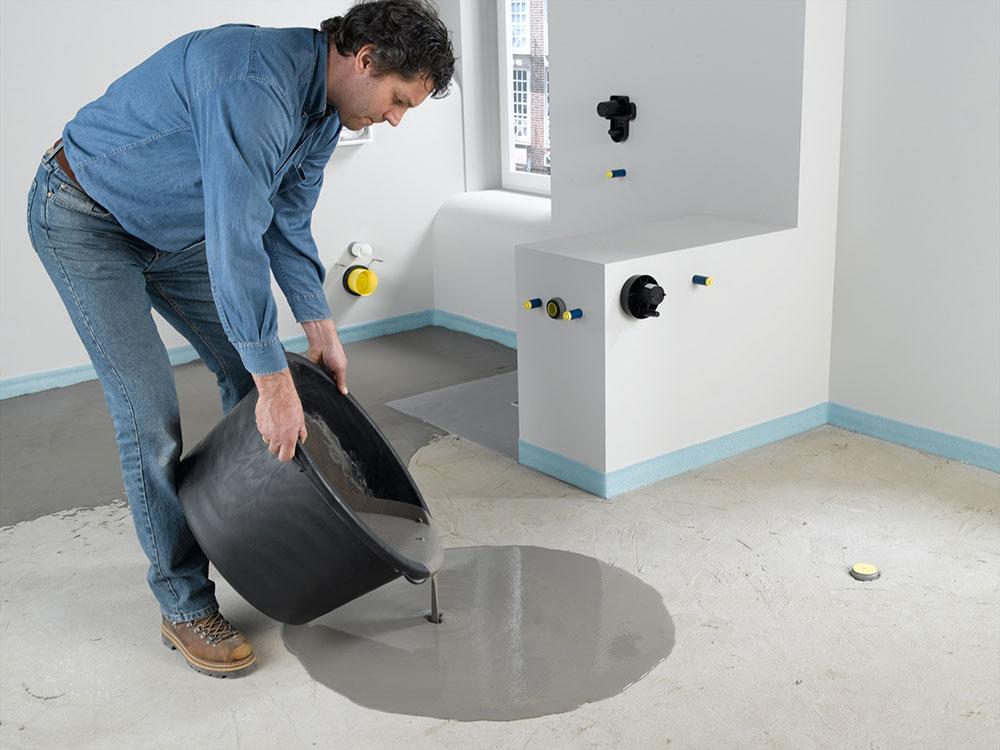 Hidroizolacija se ugrađuje prilikom same ugradnje poda