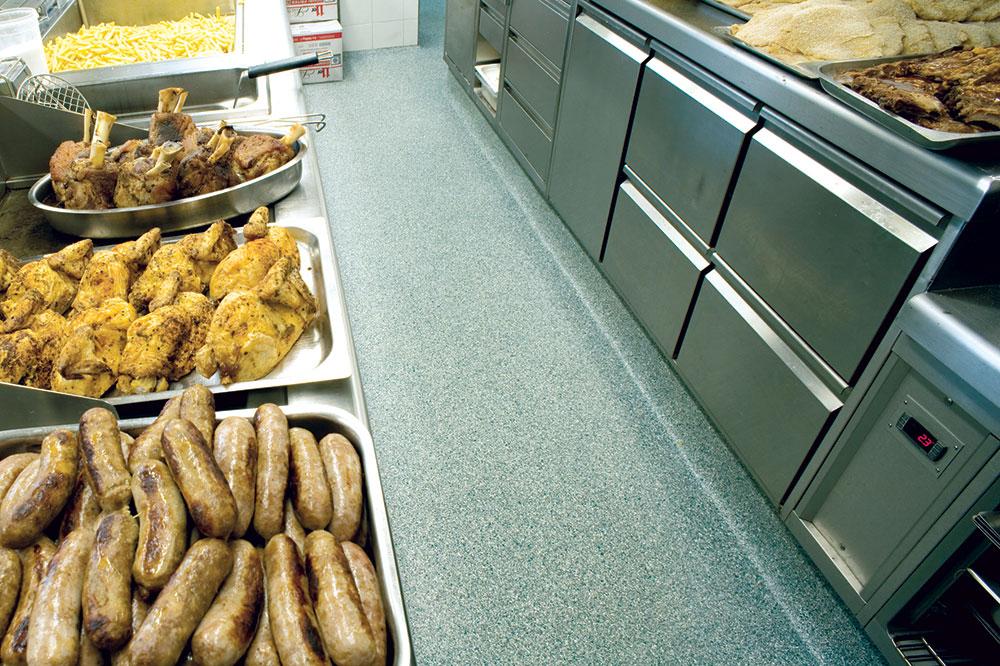 Podne obloge u prehrambenim objektima