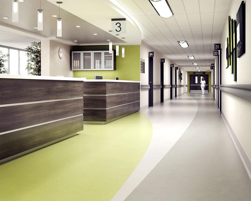 Gumeni podovi u bolnicama