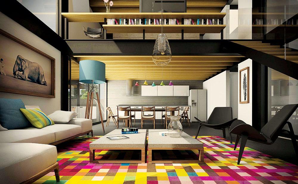 Koncept otvorenih prostora koji ujedinjuje kuhinje i dnevne sobe u jedan, zajednički ambijent