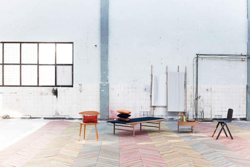 Šik drveni podovi i vanvremensko umetničko delo