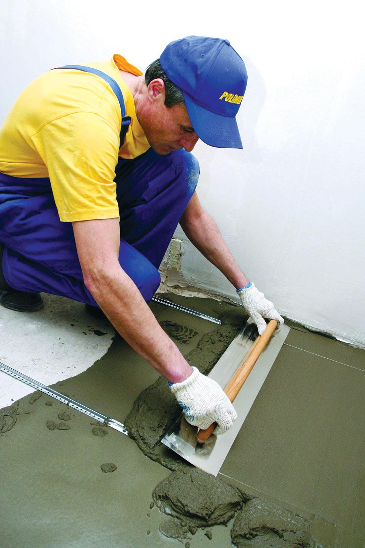 Cementna košuljica se najčešće postavlja preko termo ili zvučne izolacije u podu