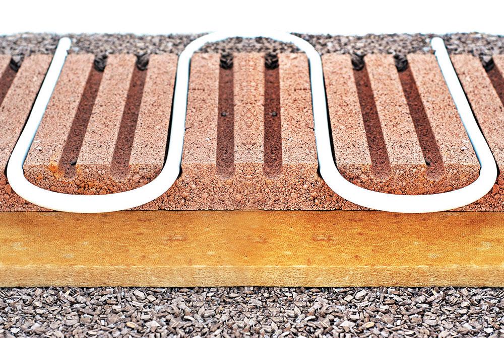 Podno grejanje kao grejno telo koristi celu površinu poda