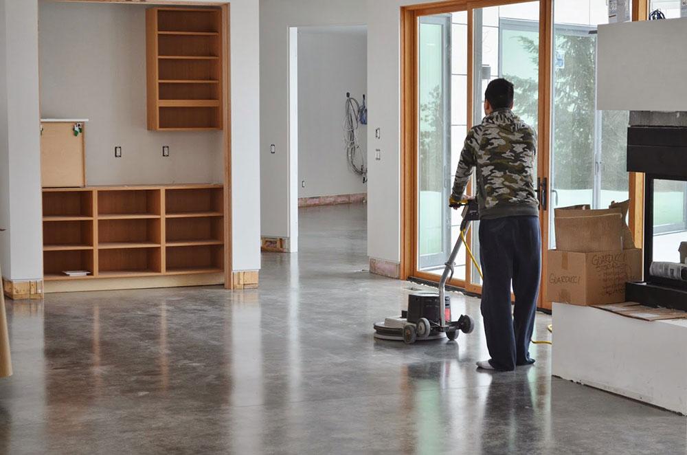 Polirani podovi od betona i lakši za održavanje