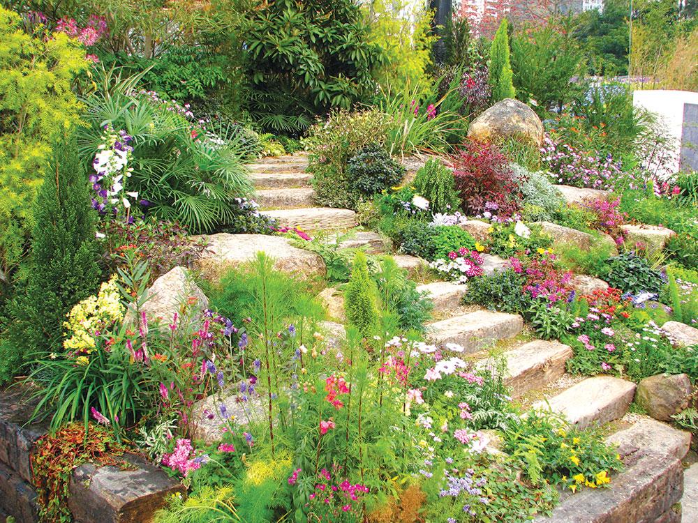 Stvaranje različitih celina će doprineti i dinamičnosti u samom vrtu