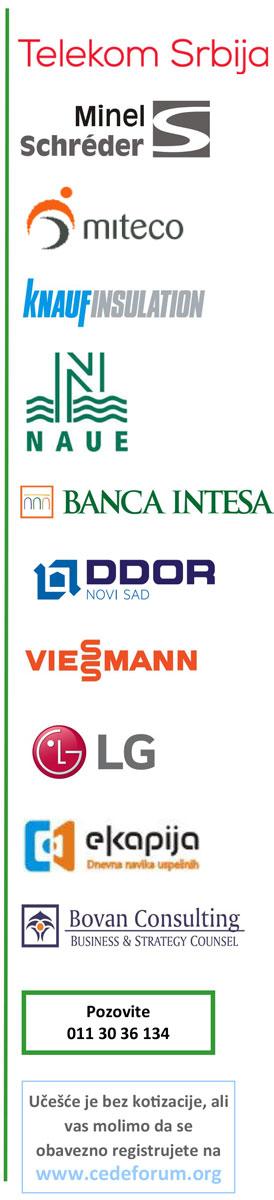 Sponzori konferencije