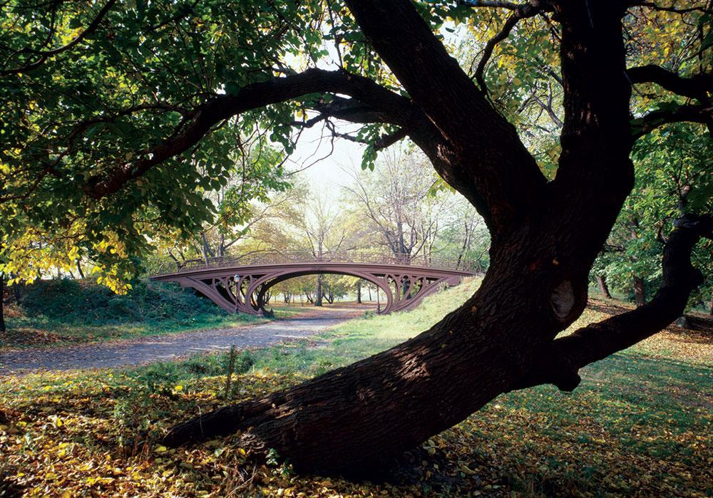 serija parkova od kojih pojedini i dan danas imaju ogroman uticaj na pejzažnu arhitekturu