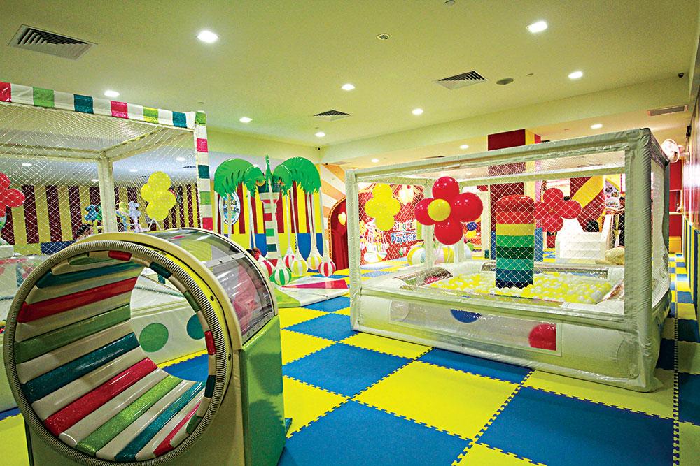 podovi u dečijim igraonicama