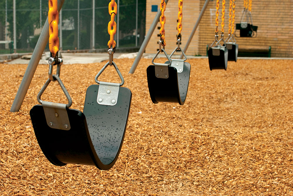 Osnova za pod na dečijim igralištima