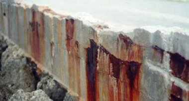 Prodor vode u beton uzrok propadanja armature
