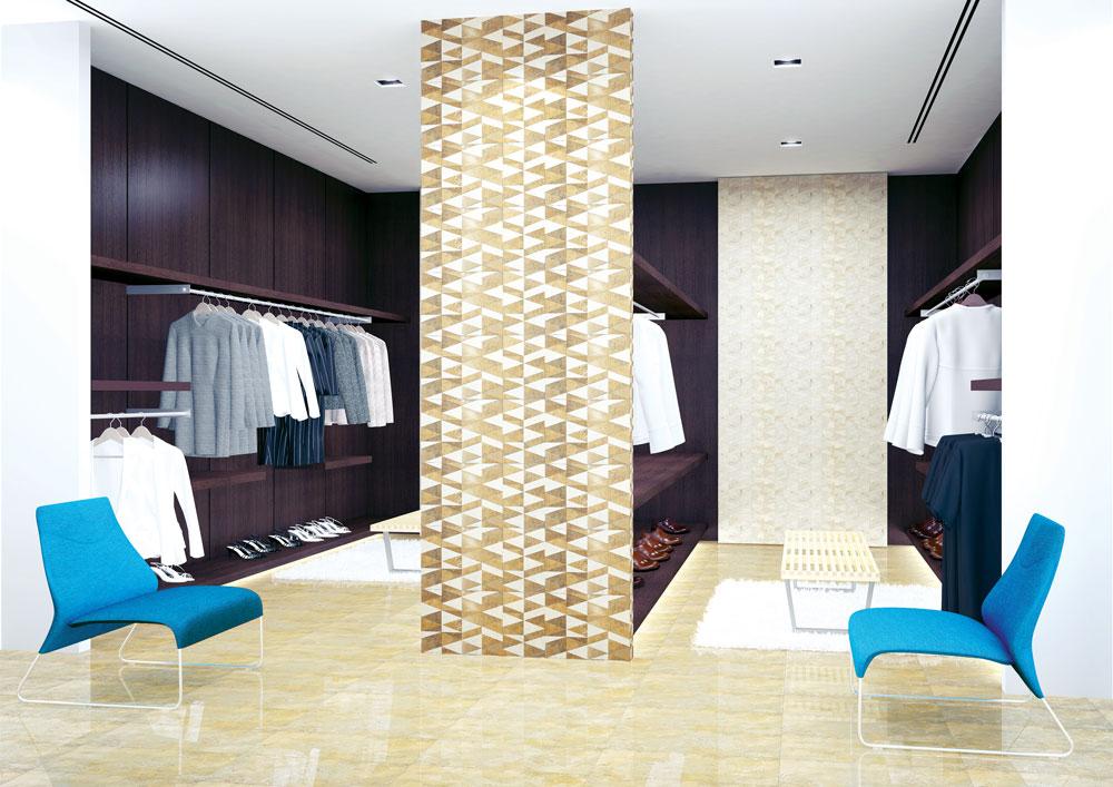 Postavljanje podnih pločica na zid je postalo svetski trend