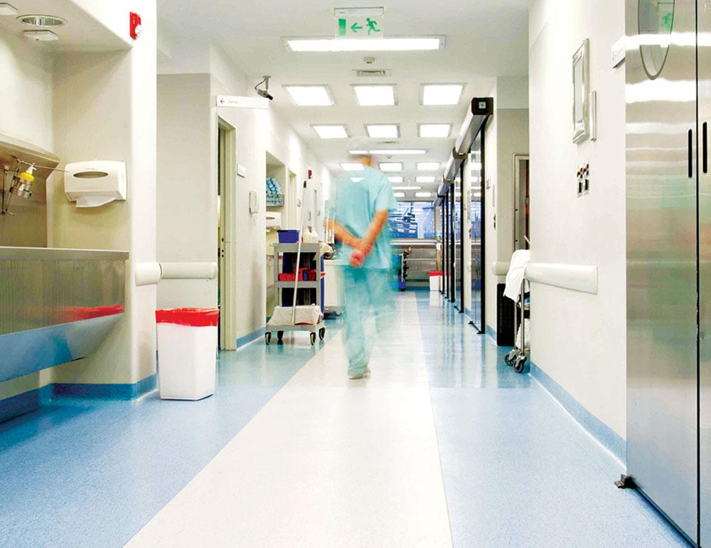 Podovi u bolničkim hodnicima