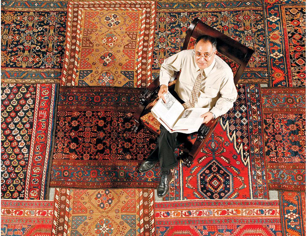 kolevka tepiha je definitivno morala biti neka od drevnih civilizacija Bliskog istoka