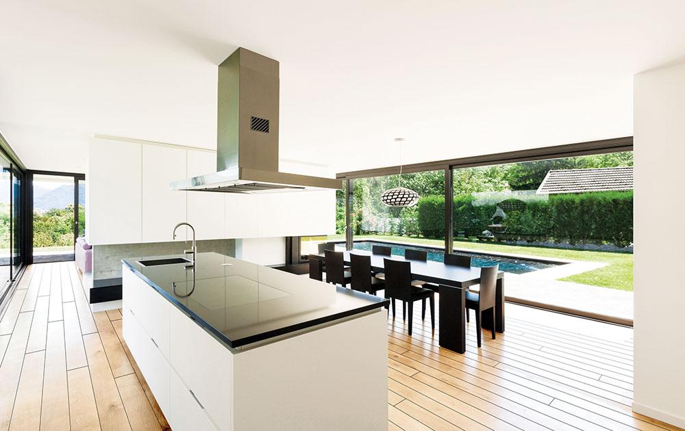 Polaganje hidro parketa u kuhinji