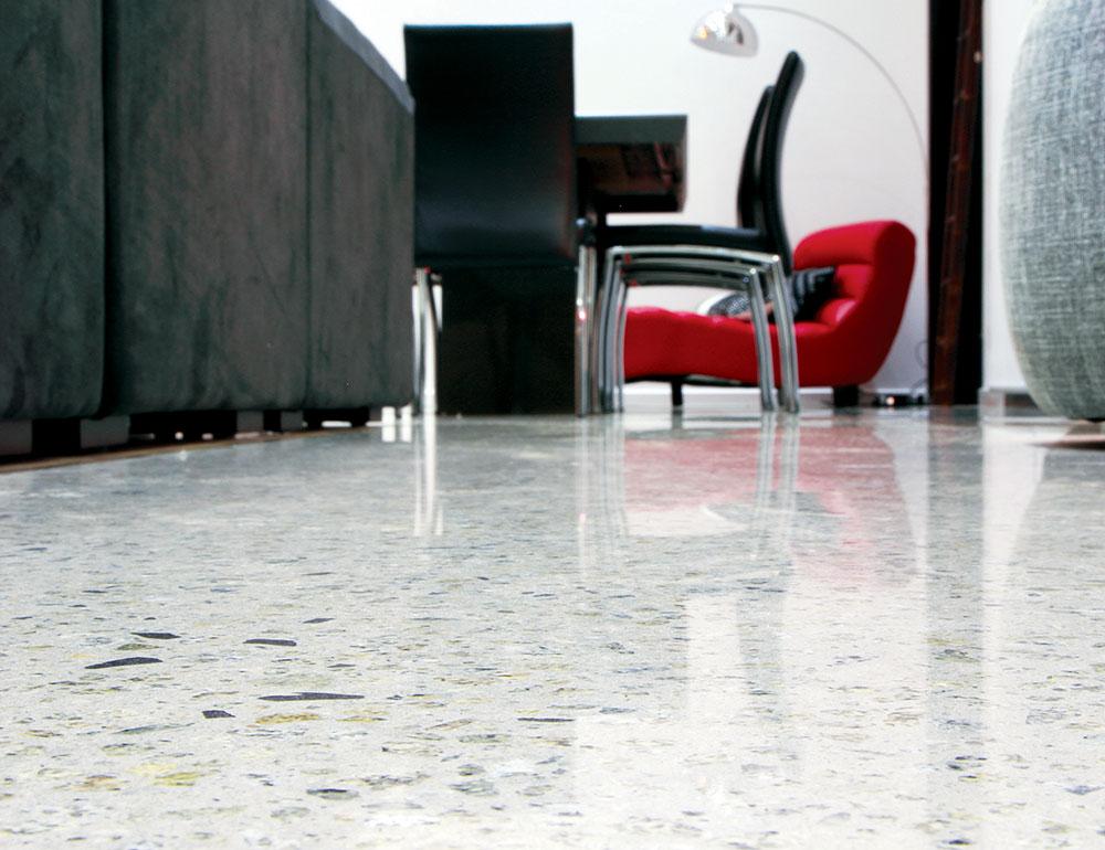 Ovaj beton daje prostoru u koji je ugrađen industrijski i sirov izgled