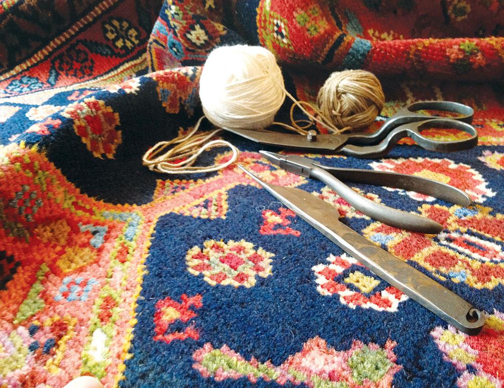 Manufaktura tepiha je svoju ekspanziju doživela u 16. veku