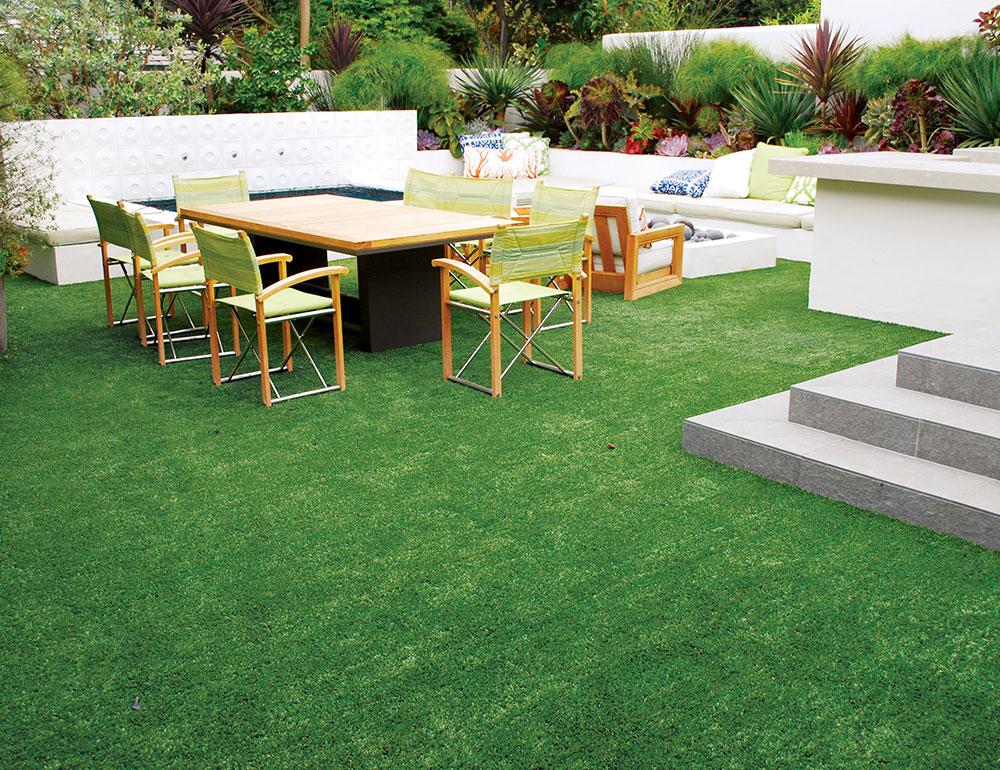 Dekorativna trava za dečija igrališta, travnjake, terase i balkone