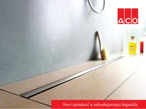 ACO ShowerDrain® S tuš kanal