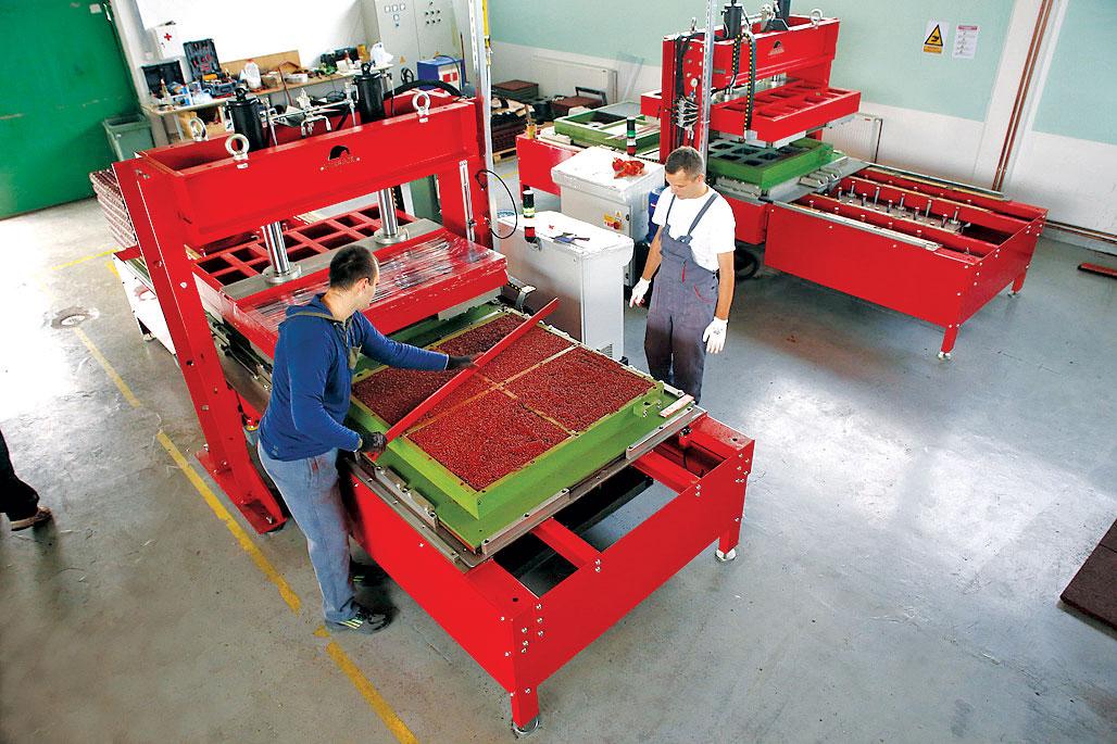 Eko-sistem, mašine za proizvodnju