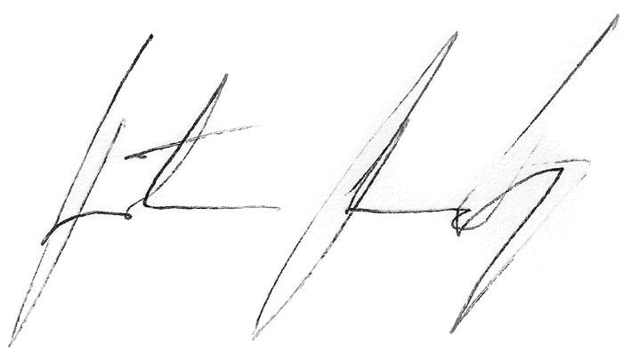potpis Predrag Radjen