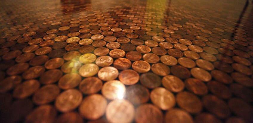 Luksuzni izgled podova od kovanica