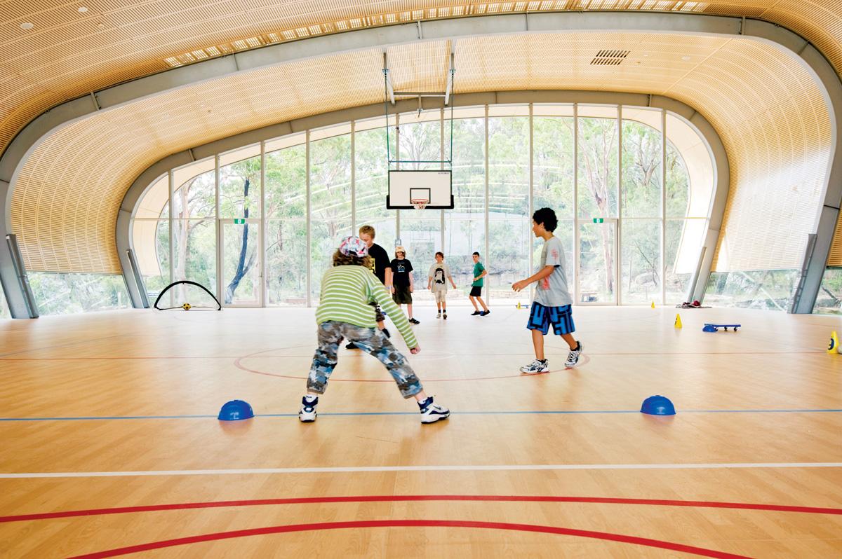 Podovi u sportskim dvoranama - Foto: www.forsythflooring.com