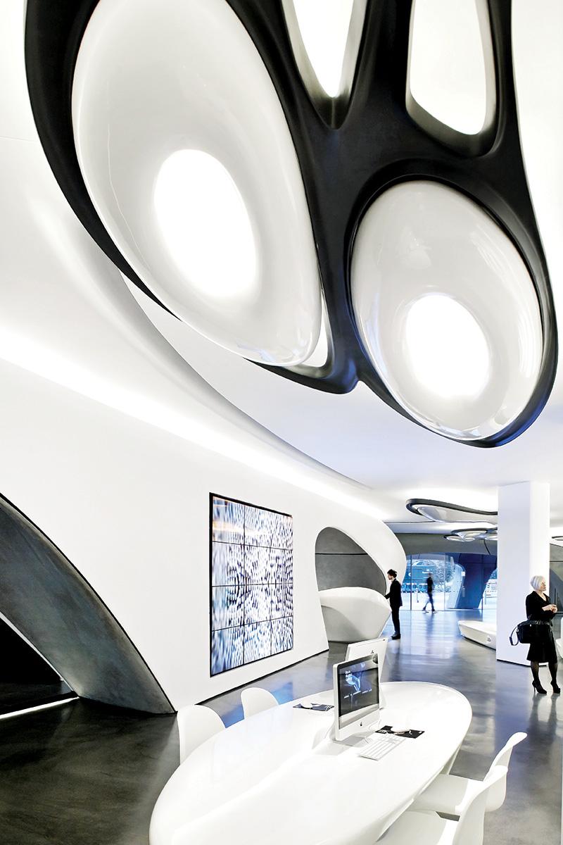 Roca galerija - Zaha Hadid