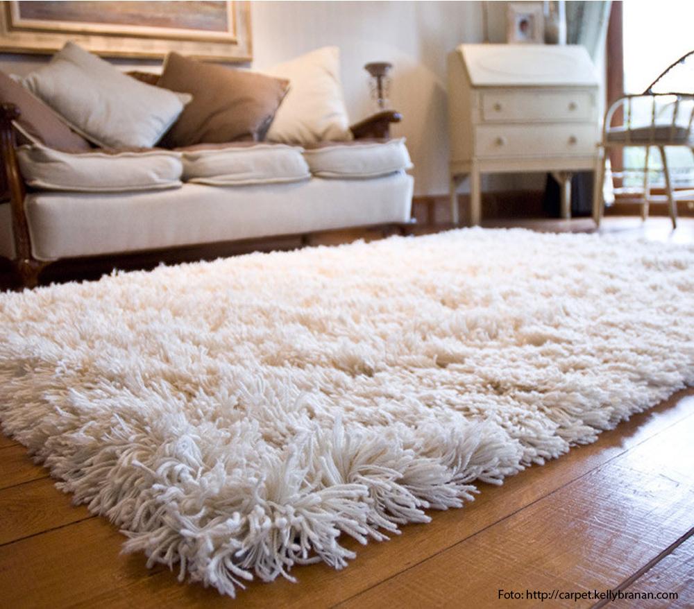 Atrakcija slojevitih tepiha