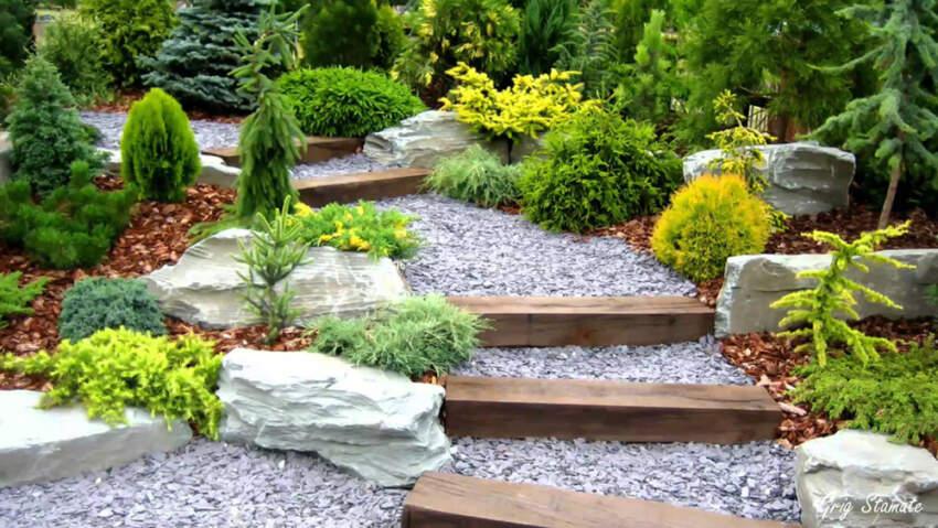 Baštenske staze su ukras dvorišta