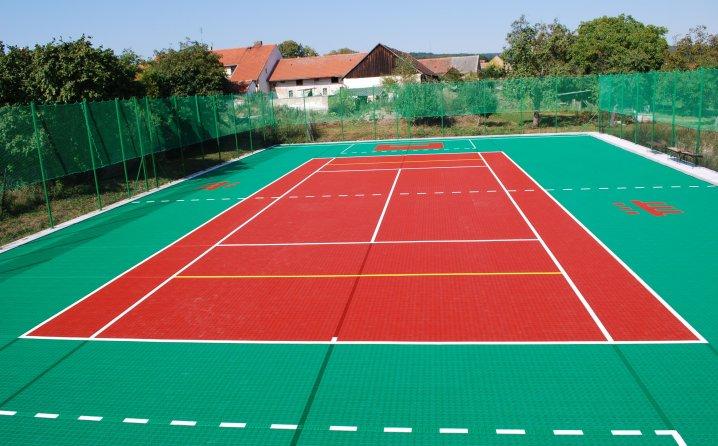 Bergo Flooring - Teniski teren