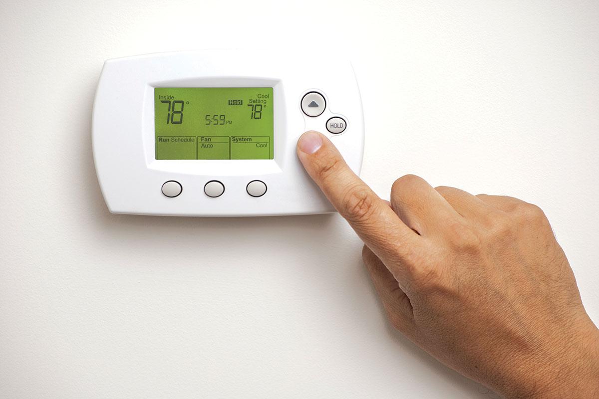 Podno grejanje - termostat
