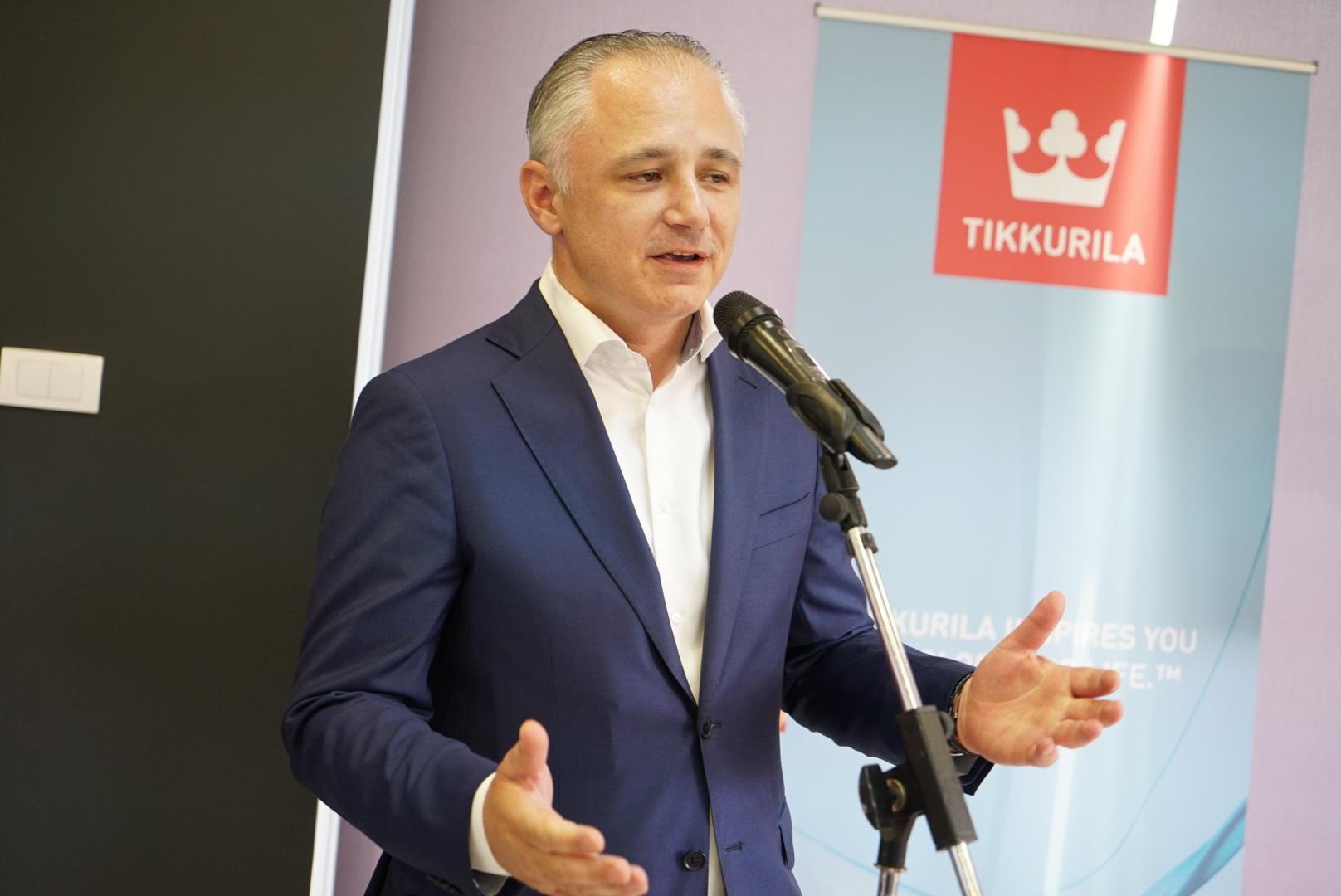Zoran Ilić, komercijalni direktor Tikkurila