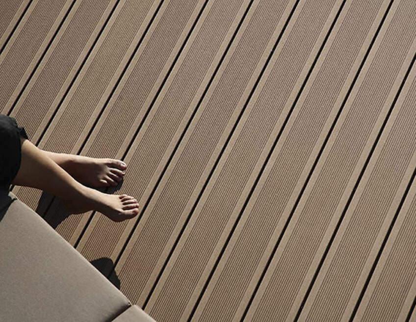 Deking za osvežavaje terase
