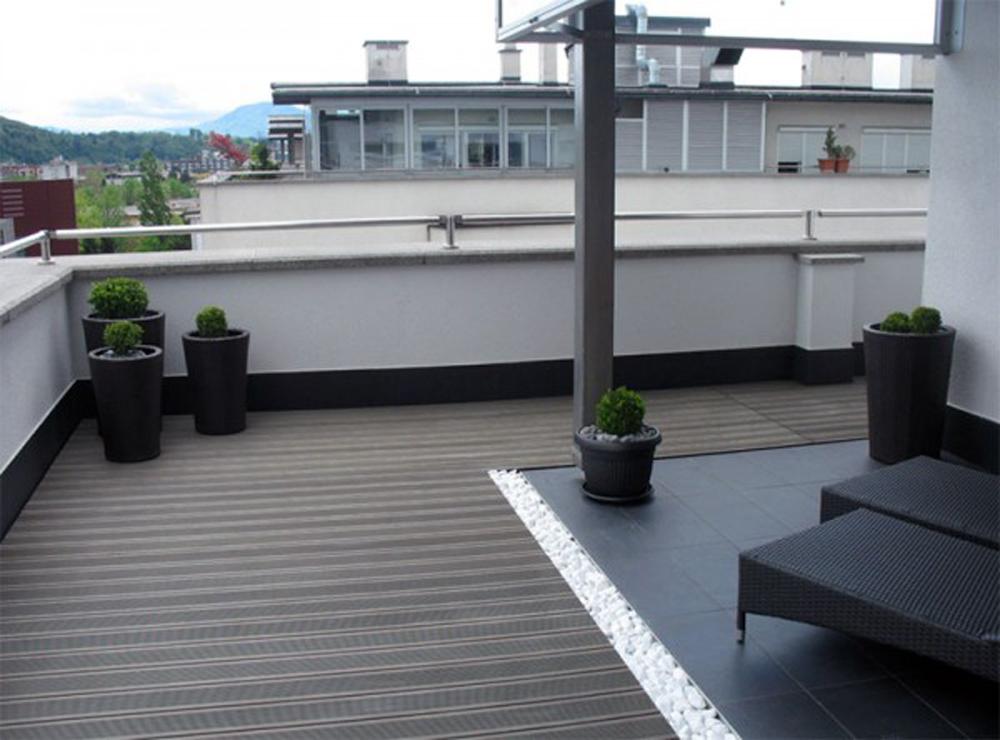 Drvena obloga na terasi