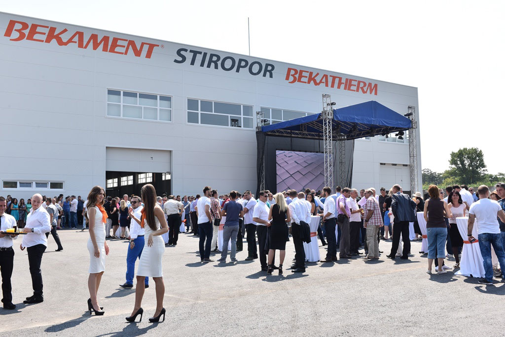 U Aranđelovcu otvorena nova fabrika stiropora Bekament