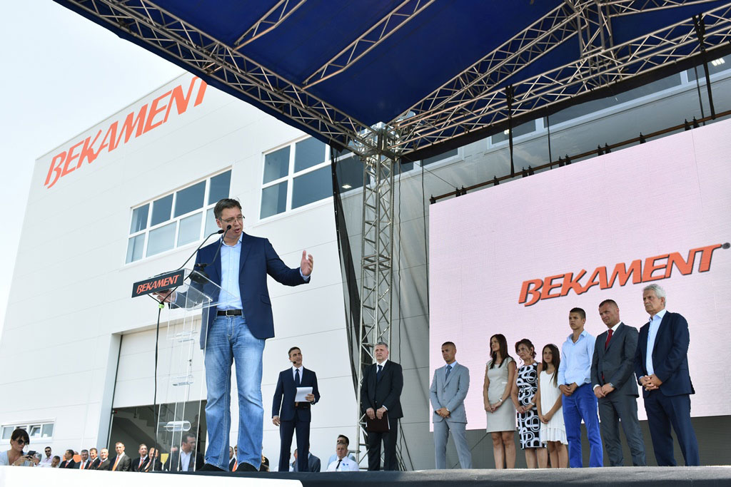 kompanija Bekament otvorila je novu fabriku