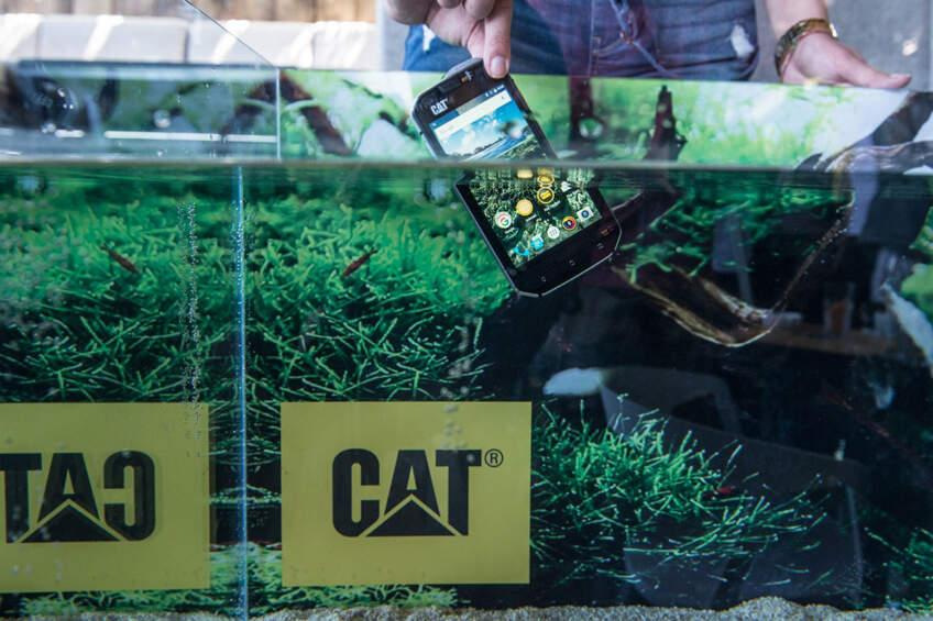 Cat® S60 je pametni telefon sa najvećom vodootpornošću