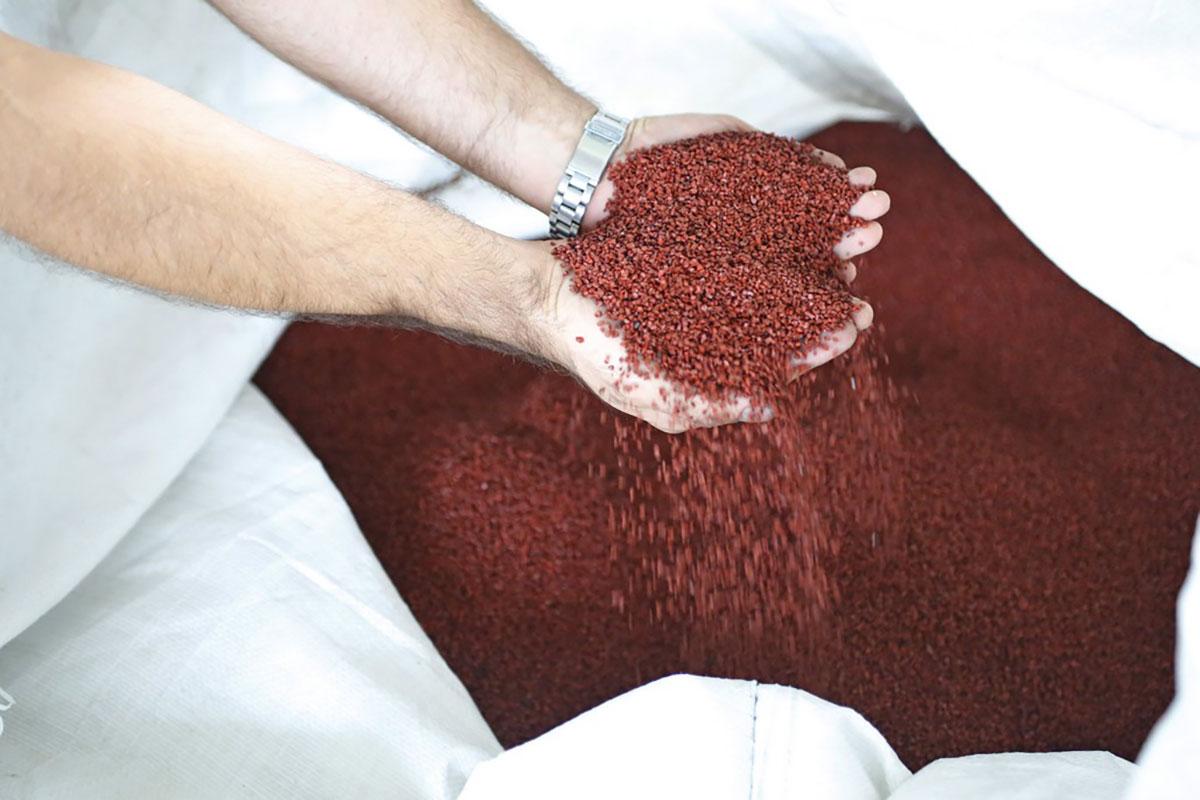 Eko-Sistem, gumeni granulat