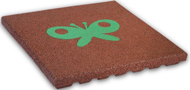 Elastične podne ploče od reciklirane gume