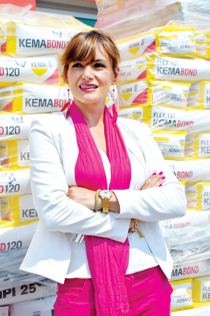 "Melanija Pavlović, generalna direktorka ""Baumit Serbia"""