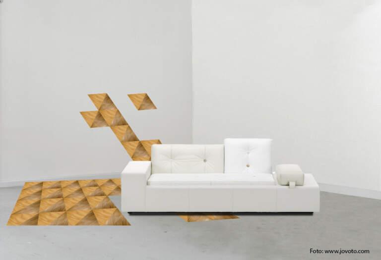 Moderna kompozicija poda