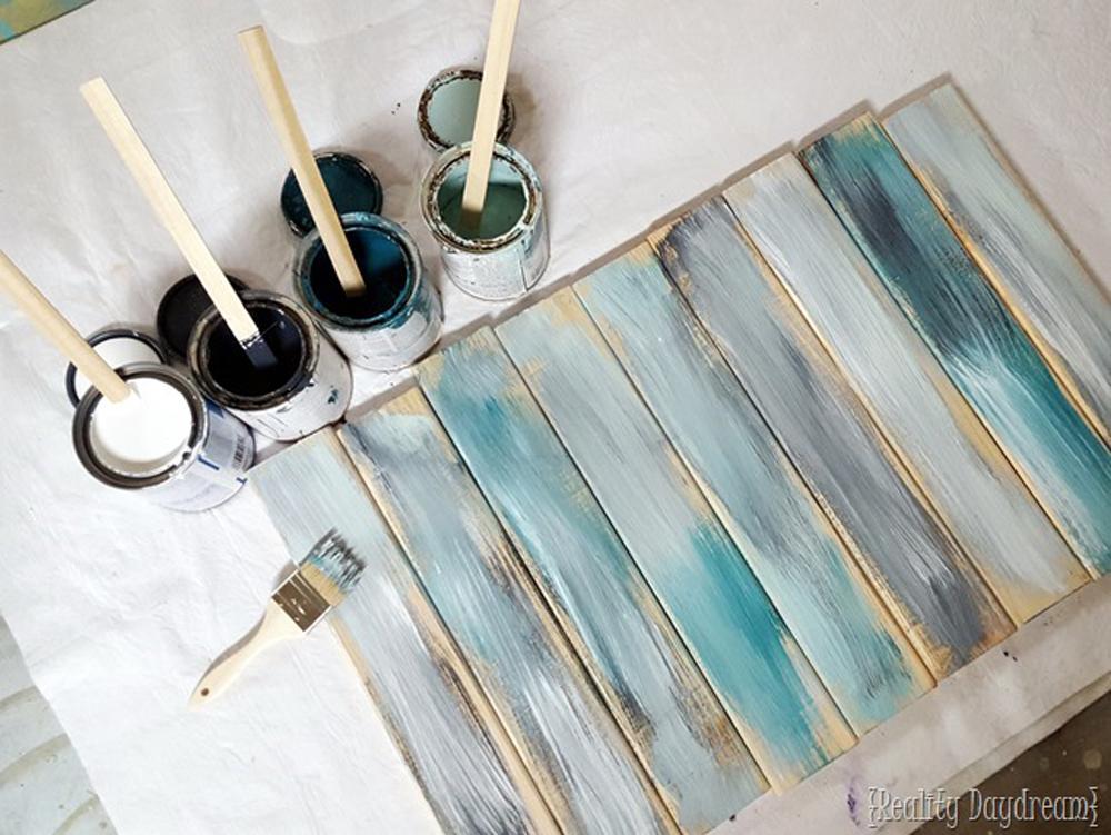 Kako Učiniti Da Nov Drveni Pod Da Izgleda Vintage