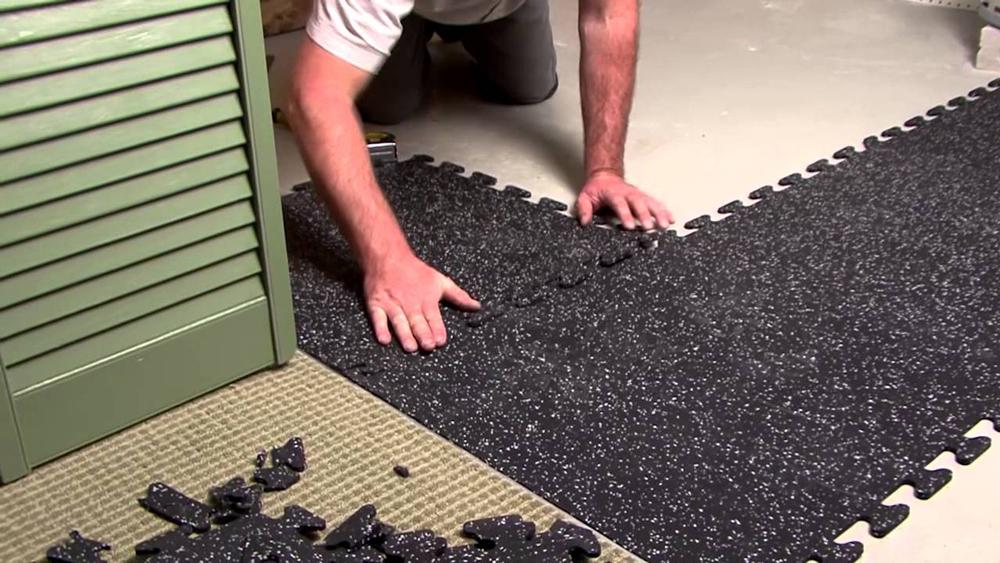 Postavljanje gumenih ploča