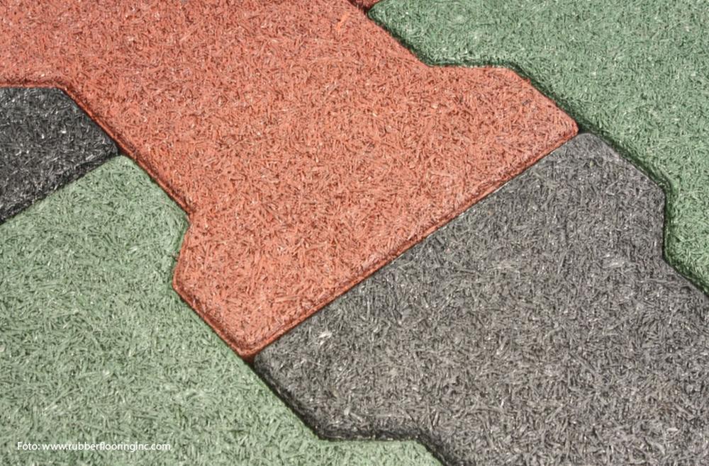 Raznolikost podova od reciklirane gume