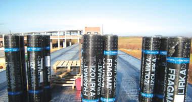 Foto: Tim izolirka d.o.o. - Trake za hidroizolaciju ravnih krovova - Trake za izolaciju temelja