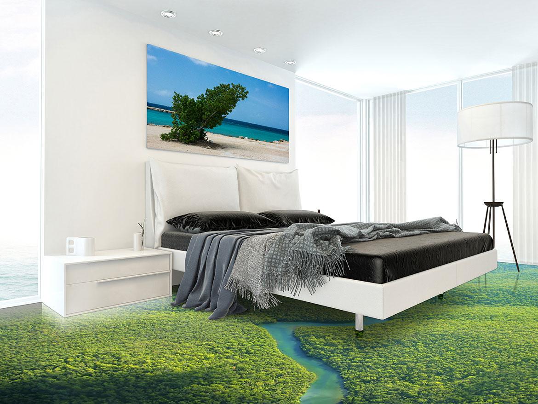 3D podovi u spavaćoj sobi