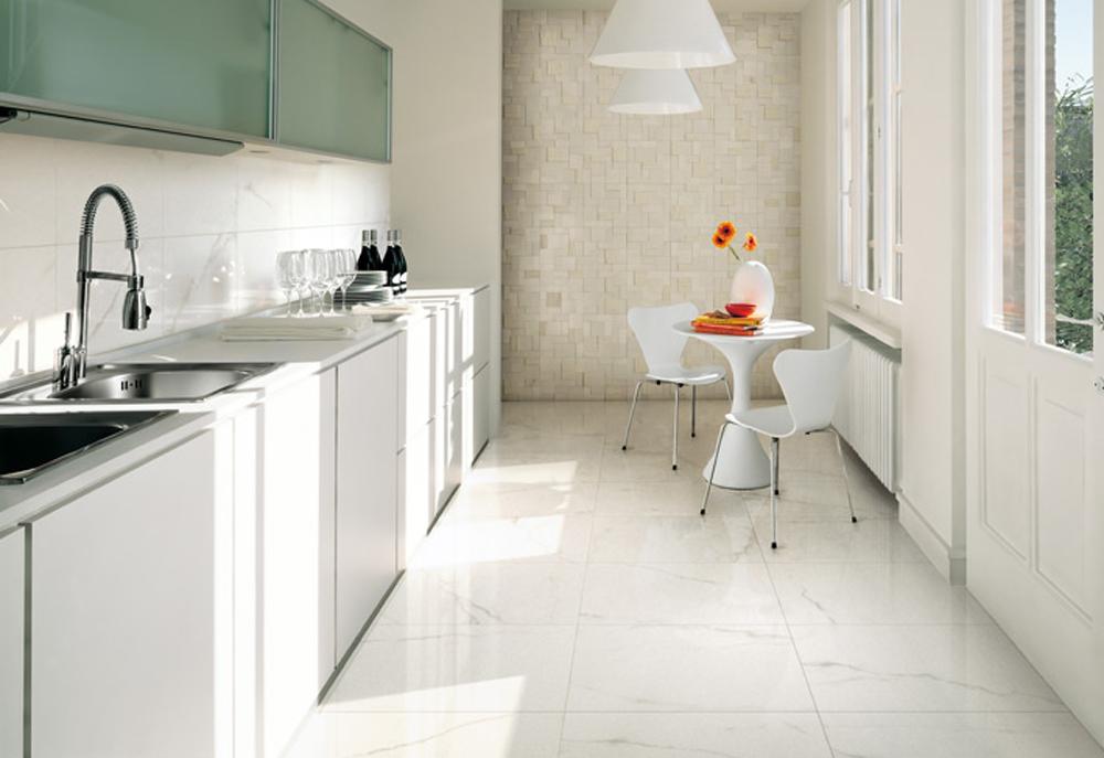 Beli keramički podovi
