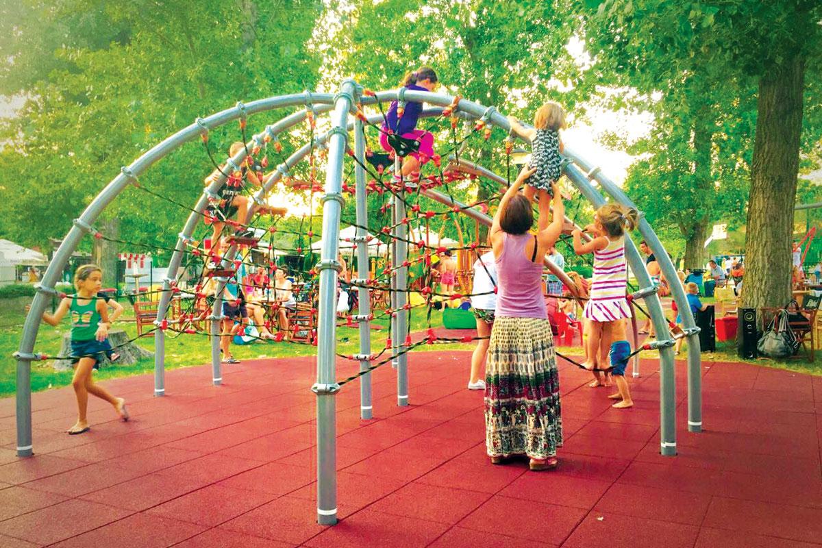 Eko-sistem, dečije igralište, Štrand, Novi Sad